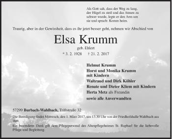 Elsa Krumm