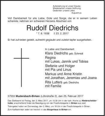 Rudolf Diedrichs