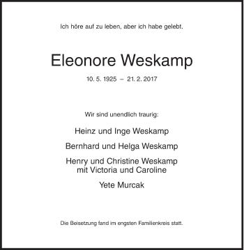 Eleonore Weskamp