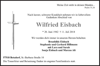 Wilfried Eisbach